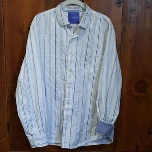 Tommy Bahama LS Buttondown Flip Cuff Shirt Mens L